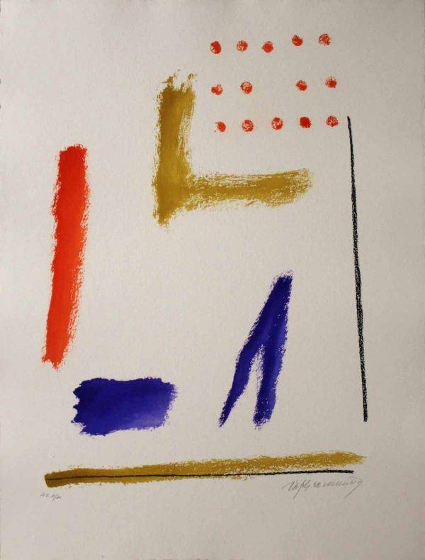 Ritmes I Espais 1 by Albert Rafols-Casamada