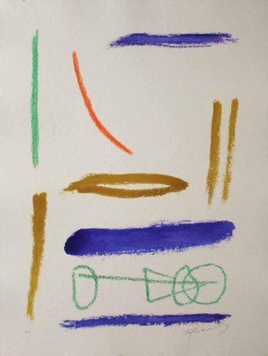 Ritmes I Espais 2 by Albert Rafols-Casamada