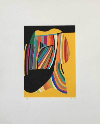 Serigrafia 1973-76 by Alberto Burri
