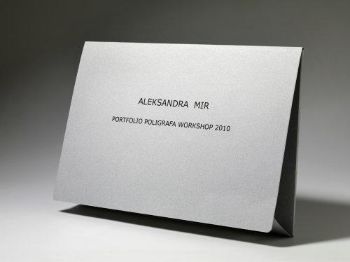 Portfolio Poligrafa Workshop 2010 by Aleksandra Mir