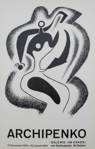 Le Sculpteur (the Sculptor) by Alexander Archipenko