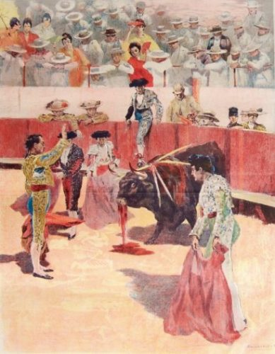 "La Corrida: ""quieto!"" by Alexandre Lunois at"