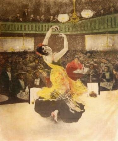 """Une Nuit Au """"burrero"""" by Alexandre Lunois at"""