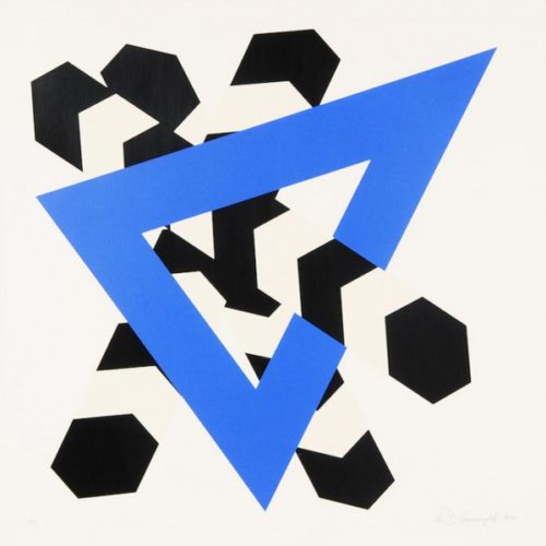 Constellation Iv by Allan D'Arcangelo at