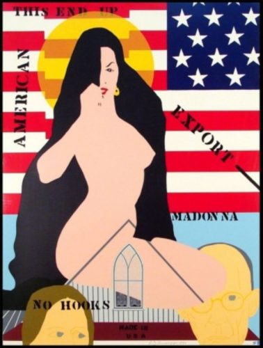 Export Madonna by Allan D'Arcangelo