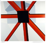 Squared Star by Allan D'Arcangelo