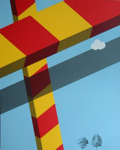 Untitled by Allan D'Arcangelo at