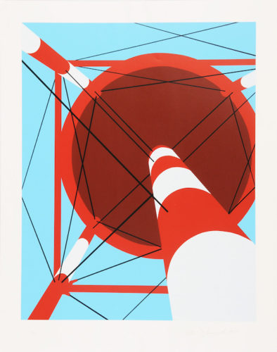 Water Tower Iv by Allan D'Arcangelo