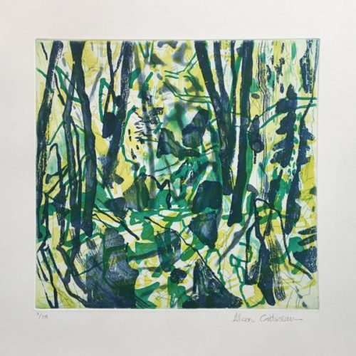 Untitled (green) by Allison Gildersleeve at