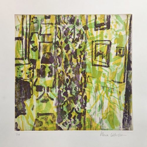 Untitled (yellow) by Allison Gildersleeve at