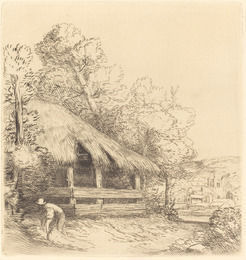 Le Petit Hangar by Alphonse Legros