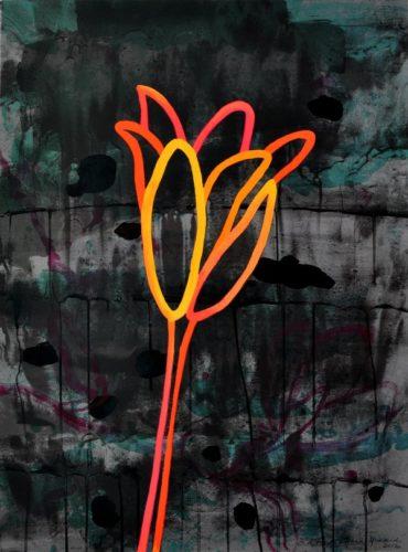"""night Flower Ii"" by Ana Maria Hernando"