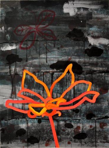 """night Flower I"" by Ana Maria Hernando"