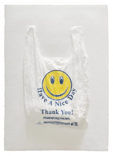 Have A Nice Day, Thank You! Plastic Bag by Analia Saban