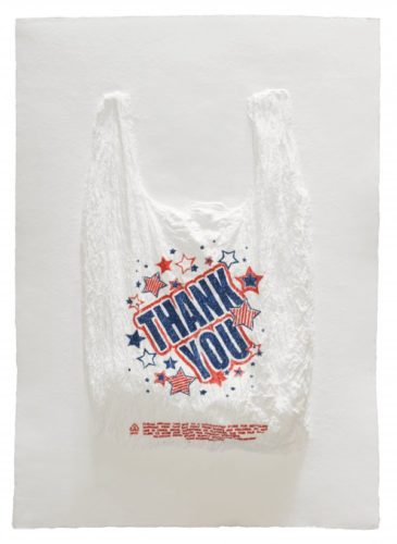 Thank You Plastic Bag by Analia Saban