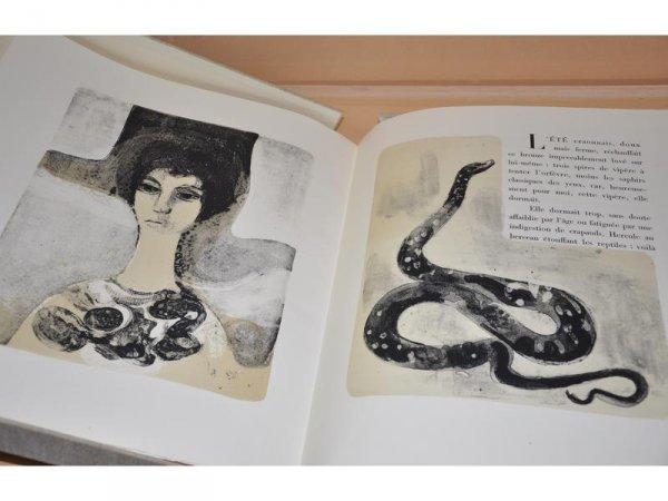 Vipère Au Poing. Lithographies Originales D'andré Minaux. by André Minaux