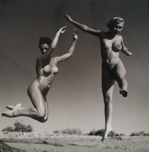 Nu En L'air by Andre De Dienes