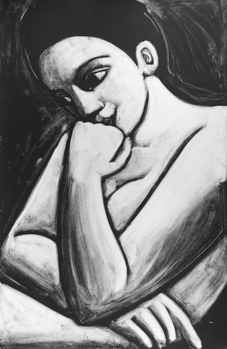 Angel Thinking 2 by Anita Klein