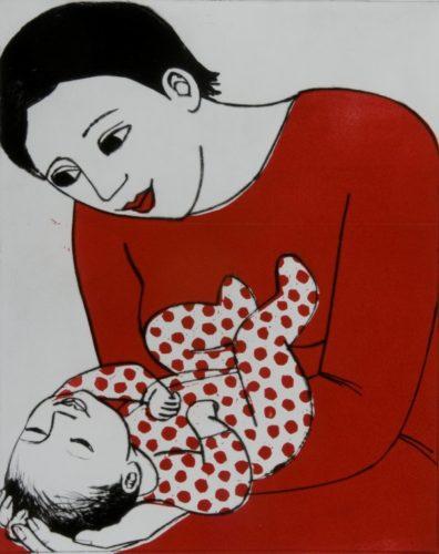 Betty Smiles by Anita Klein at