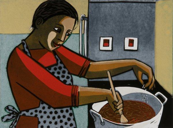 Cooking by Anita Klein at