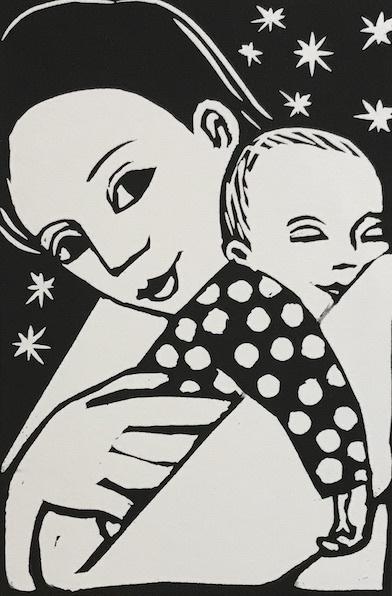 Sacha Sleeping by Anita Klein