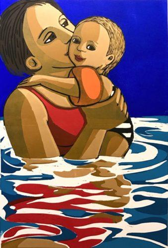 Swimming by Anita Klein at