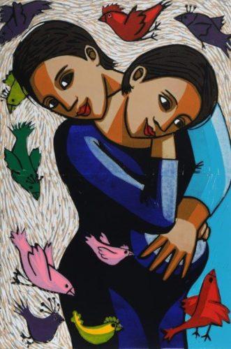 The Birds & The Grandchild by Anita Klein at