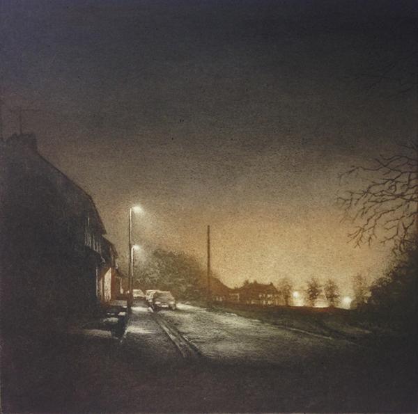 Night Light Iv by Anja Percival