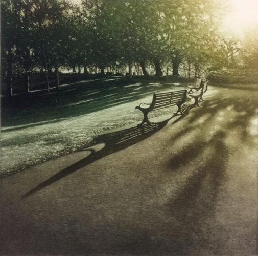 Park Light Ii by Anja Percival