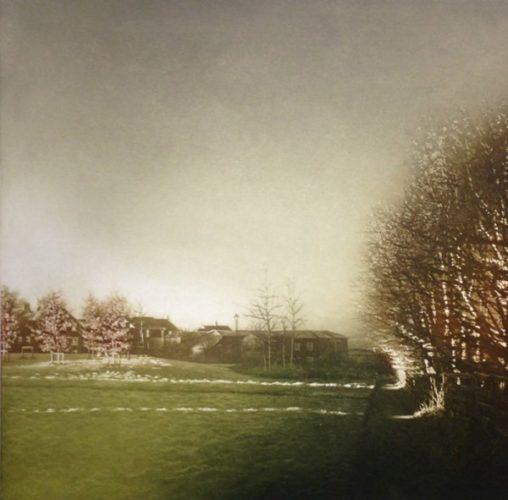 Sun Light Ii by Anja Percival