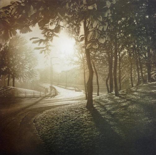 Sun Light Iv by Anja Percival