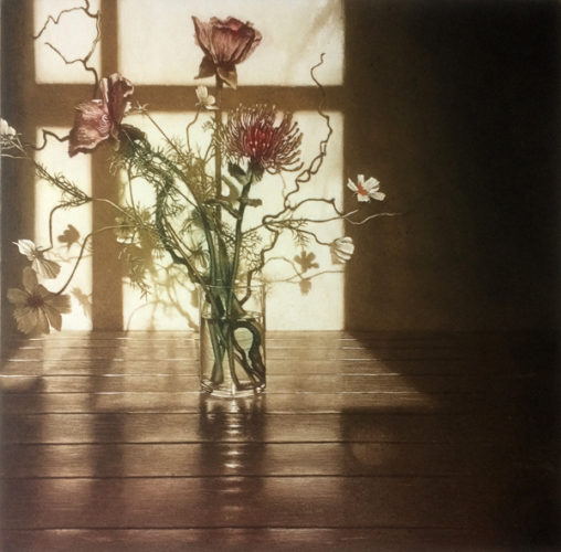 Window Light Xv by Anja Percival