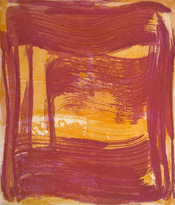 Broad Strokes 8 by Anne Russinof