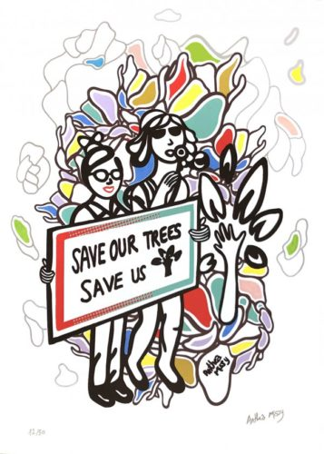 Save Our Trees, Save Us by Anthea Missy