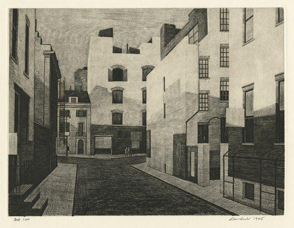 City Lane by Armin Landeck