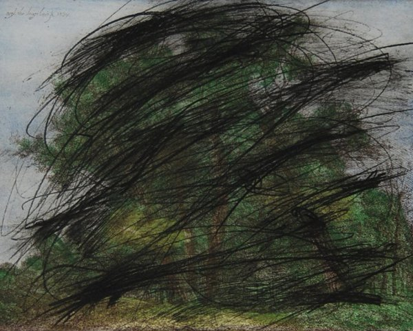 Wald Und Wiesen I by Arnulf Rainer at