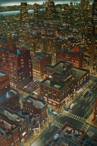 Night Fall by Art Werger
