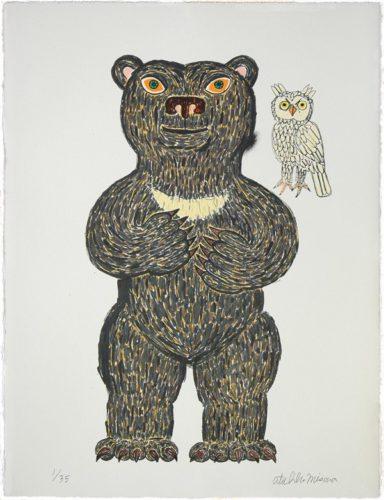 Japanese Bear (standing) by Atsuhiko Misawa