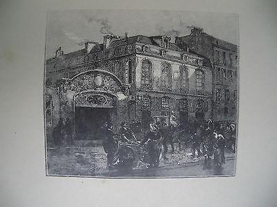 La Maison Où Mourut Béranger by Auguste Louis Lepere at