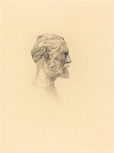 """antonin Proust"" (2 Impressions, One Of The Sixth State And One Of The Seventh), In Augu... by Auguste Rodin at"