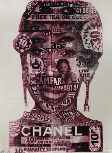 Chanel Girl 2008 by BAST at Addicted Art Gallery