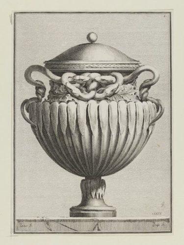 Suite Des Vases Tirée Du Cabinet De Monsieur… by Benigno Bossi