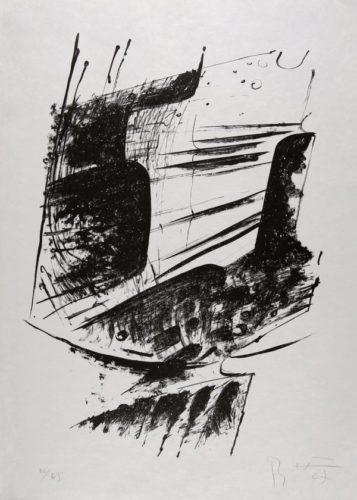 Komposition I by Bernhard Heiliger