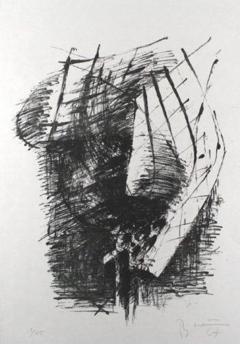 Komposition V by Bernhard Heiliger