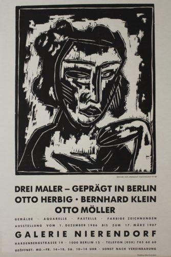 Mädchenkopf by Bernhard Klein