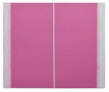 Structure, Pink by Betty Merken at