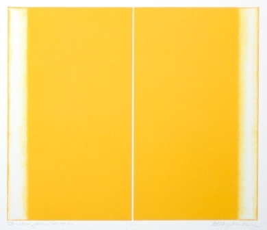 Structure, Yellow by Betty Merken at