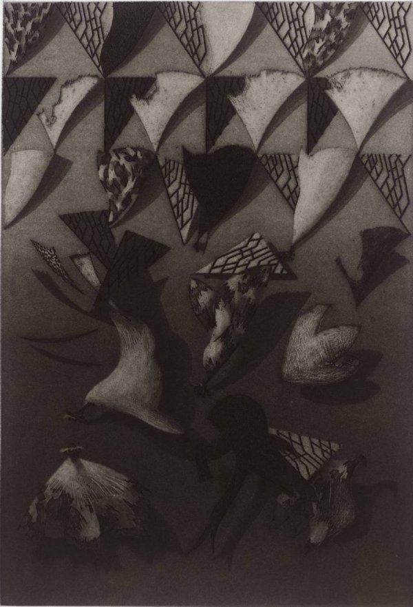 Plate Vi by Bill Jacklin RA