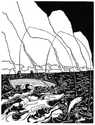 North Shore Beat Loch Maree by Bill Woodrow RA
