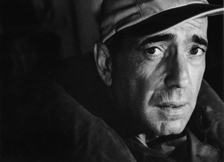 Humphrey Bogart – Head by Bob Willoughby at